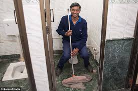 Bathroom Attendant Jobs A Room With A Loo Meet The Men Who Live Sleep And Eat In A Toilet