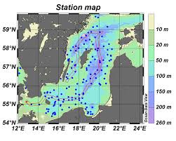 Baltic Sea Map Oxygen Survey In The Baltic Sea 2010 Smhi