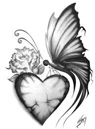 simple pencil drawings of butterflies simple pencil drawings of