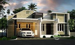 Homely Design Single Story Home Designs Modern Style With One - 1 story home designs