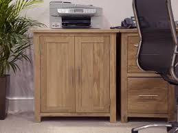 Home Office Furniture Memphis Eton Solid Oak Modern Furniture Home Office Printer Storage