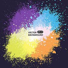 spray paint color background color background spraying