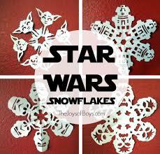 star wars snowflakes the joys of boys