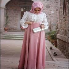 desain baju gamis hamil model baju gamis ibu hamil sederhana dan simpel