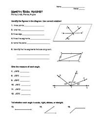 plane geometry worksheets free worksheets library download and