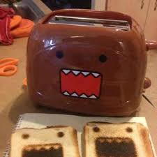 Coolest Toaster Fredflare Com Domo Toaster Japanese Brown Monster Toaster