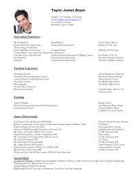 Resumer Example by Sample Dance Resume Dance Studio Manager Sample Resume Sterile
