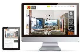 Award Winning Interior Design Websites by Swank Interiors Norwich Marketing By Splice Creative