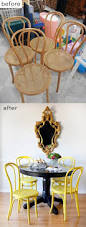 best 25 painting old chairs ideas on pinterest chair bench