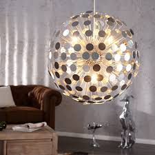 Wohnzimmerlampe 50er Jahre Riesige Extravagante Design Hängelampe Infinity Verspiegelt
