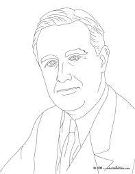 president franklin roosevelt coloring pages hellokids com