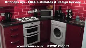 washing machine in kitchen design kitchens ayrshire u0026 kitchens ayr the kitchen design experts in