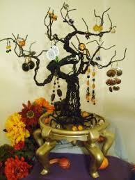 spooky tree jewelry journal