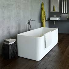 caroma cube 1600 freestanding bath buy online at the blue space