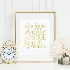 Love Anchors The Soul Print - shop anchor hebrews on wanelo