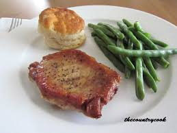 pan fried pork chops the country cook