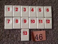 rummikub game pieces u0026 parts ebay