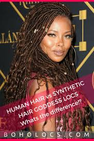 Synthetic Vs Human Hair Extensions by Human Hair Vs Synthetic Hair Goddess Locs Whats The Difference