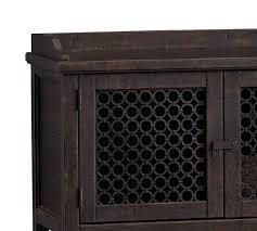 Metal Bar Cabinet Bar Cabinet Pottery Barn