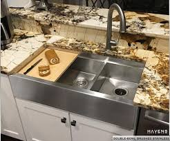 Countertop Kitchen Sink Custom Stainless Steel Sinks Usa Made Havens Metal