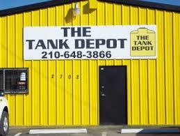 tank depot of san antonio texas
