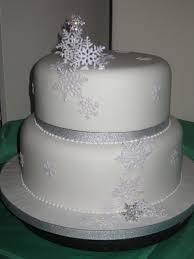 wedding cake snowflakes wedding cake ideas