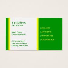 Bp Business Card Petrol Station Business Card Zazzle Com