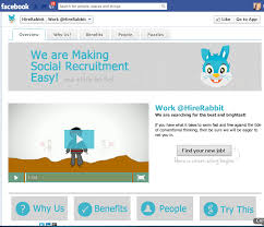 the resumator hirerabbit debuts its based social recruiting platform