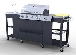 barbecue cuisine cuisine d extérieur luxe 4 1 brûleurs avec évier dallas