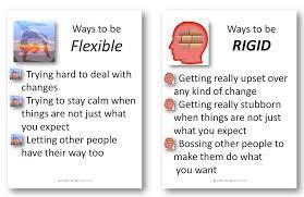 flexibility in kids with asd u2013 card activity to teach this social