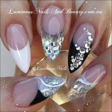 nail designs for black nails