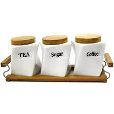canister sets for kitchen kitchen canisters ebay