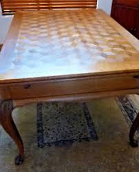 Draw Leaf Dining Table Beautiful Solid Oak Parquet Antique Draw Leaf Dining Table Ebay