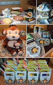 monkey decorations for baby shower baby shower ideas for boys some with monkey boy baby