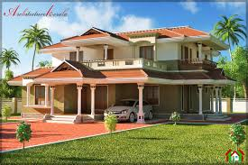 Traditional Two Story House Plans Bed Room Traditional Style House Design Architecture Kerala