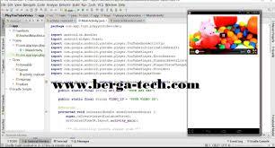 membuat aplikasi android video lengkap cara membuat aplikasi android video streaming berupa source