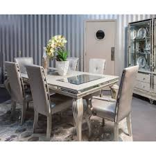 michael amini dining room 4 799 99 hollywood loft frost 8 pc dining set by michael amini