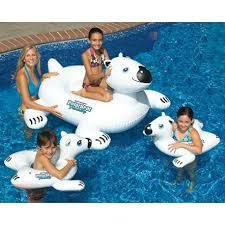 amazon pool floats swimline polar bear family swimline http www amazon com dp