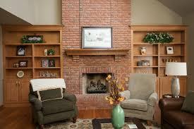 custom amish bookcase built ins in breckenridge estates this