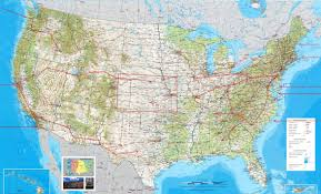 map usa southwest map usa west major tourist attractions maps