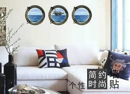 marine home decor marine aircraft carrier decals 3d wall stickers home decor for kids