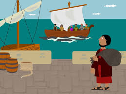 free bible images when jonah refuses to obey god and care for his
