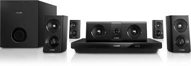 Buy Philips Htb5520 94 5 1 3d Blu Ray Home Theatre Black Online At - 5 1 3d blu ray home theater htb3520 98 philips