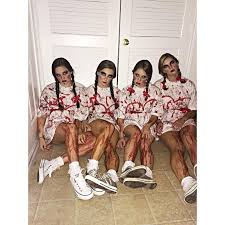 Super Scary Halloween Costumes Girls 25 Group Halloween Costumes Ideas