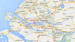 Map Netherlands Hook Of Holland Map Map Of Hook Of Holland Western Europe Europe