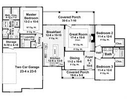 2500 Sq Ft Ranch Floor Plans Country Georgian Home With 3 Bedrooms 1800 Sq Ft House Plan