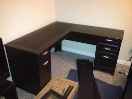 l shaped office desk best in small office desk remodel ideas with