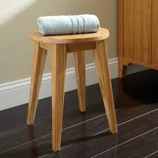 Bamboo Bathroom Accessories by Sena Bamboo Bathroom Stool Bathroom