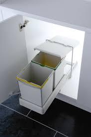 unique kitchen under sink bin taste