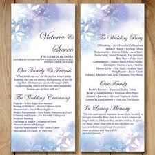 Winter Wedding Programs Shop Purple Wedding Programs On Wanelo